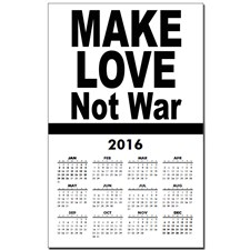 make_love_not_war_calendar_print